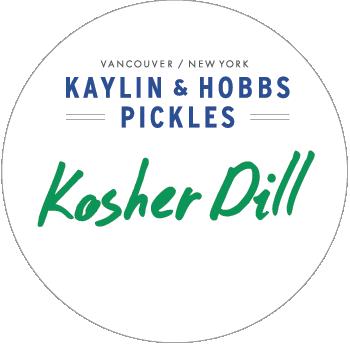 Kaylin & Hobbs Kosher Dill Pickles