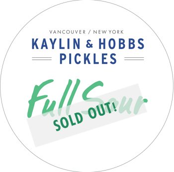 Kaylin & Hobbs Full Sour Pickles