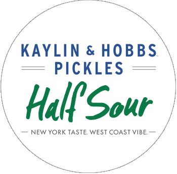 Kaylin & Hobbs Half Sour Pickles