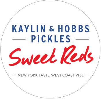 Kaylin & Hobbs Sweet Reds Pickles